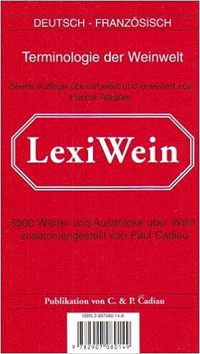 Télécharger en ligne LexiVin/LexiWine 2002 pdf