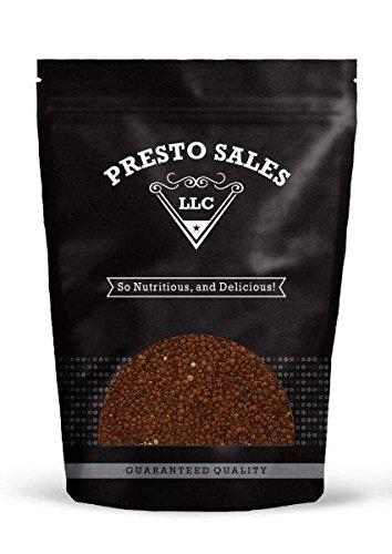 Quinoa, Red (4 lbs.) by Presto Sales LLC by Presto Sales