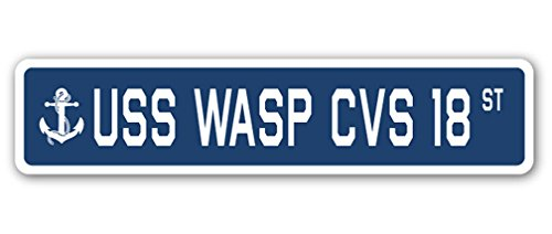 uss-wasp-cvs-18-street-sign-navy-ship-veteran-sailor-vet-usn-gift