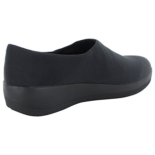 Fitflop Womens Superstretch Bobby Slip On Scarpe Mocassino Nero