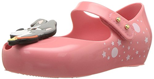 Mini Melissa Girls' Mini Ultragirl + Lady and The Tramp Ballet Flat, Pink Azalea, 7 M US Toddler (Shoes Tramp)