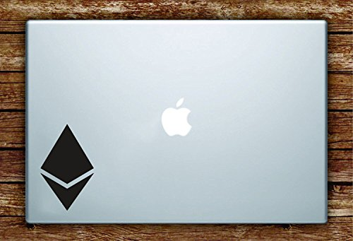 ETH Logo Decal - Laptop, Window, Car, Glass Sticker (2