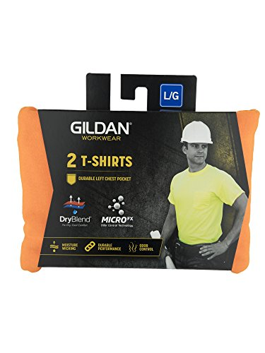 f296a53dca5 Gildan Men s DryBlend Workwear T-Shirts with Pocket