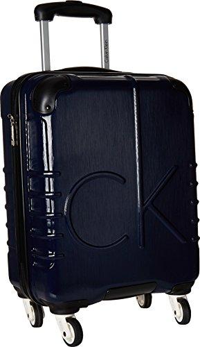 Calvin Klein Unisex CK-526 Islander 19'' Upright Suitcase Navy One Size by Calvin Klein