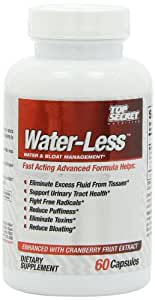Top Secret Nutrition Water-Less Natural Capsules, 60 Count