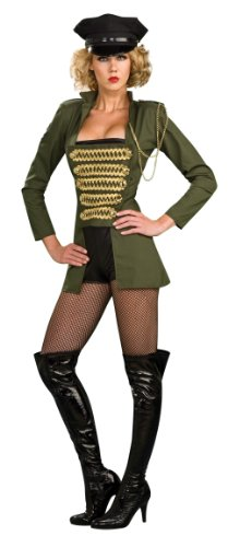 Secret Wishes Women's Playboy Military Babe Costume,