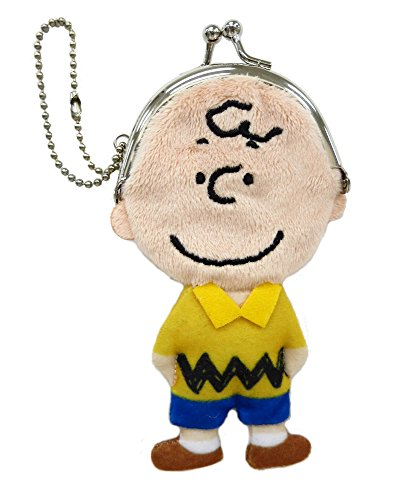 PEANUTS mini purse coin case Charlie Brown
