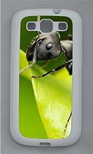 Animals 044 TPU Silicone Case Cover for Samsung Galaxy S3 I9300 White