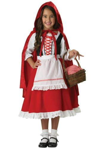 InCharacter Girls Little Red Riding Hood Costume, Medium - Little Red Riding Hood Girls Costume