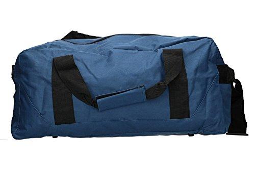 borsone Borsa palestra viaggio da Carrera blu VM55 da con tracolla qt4611