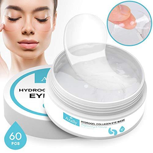 419TJmoU9hL - AZALLY Hydrogel Collagen Eye Mask - Collagen Anti-Aging Under Eye Patches, Under Eye Patches, Under Eye Bags Treatment, Eye Mask for Puffy Eyes (60pcs)