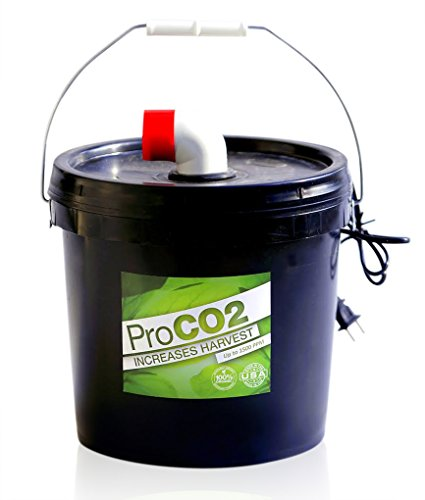 Air-Forced Pro Co2 Bucket w/ Handle for 8' x 8' Area - Natural Releasing Carbon Dioxide Boost (Natural Co2 Plant)