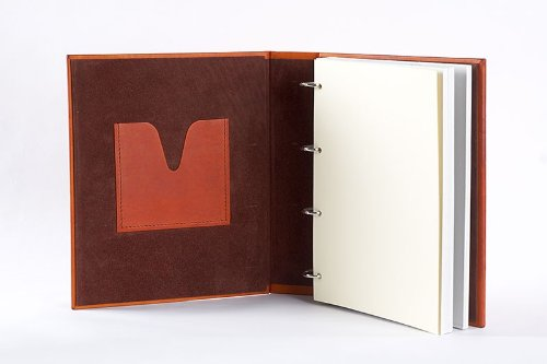 LuxusOlymp 's Leather Photo Album XL ARABIQUE - Handmade by LuxusOlymp (Image #2)