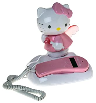 ff1632f7e Image Unavailable. Image not available for. Color: Hello Kitty: Corded  Telephone