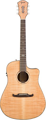 Fender 0968077021 T-Bucket 400 Acoustic Electric Guitar, Rosewood Fingerboard – Natural