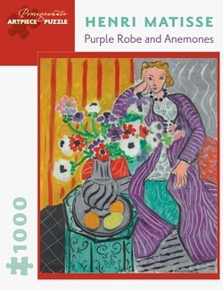 Pomegranate Henri Matisse Purple Robe and Anemones, 1000 Piece Jigsaw Puzzle