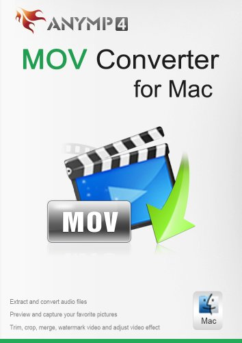 (AnyMP4 MOV Converter for Mac 1 Year License - Convert any video like MP4, FLV, AVI, WMV, YouTube video, even HD video and 4K video to MOV on Mac [Download])