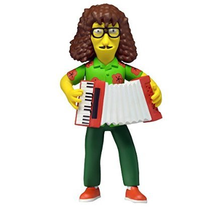 "NECA Simpsons 25th Anniversary Series 4 Weird Al 5"" Celebrity Action Figure"