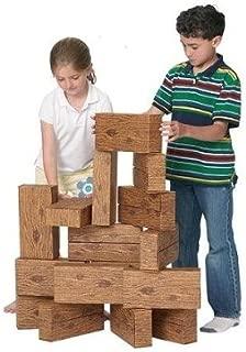product image for Smart Monkey Toys 5016 16pc Giant Timber Set