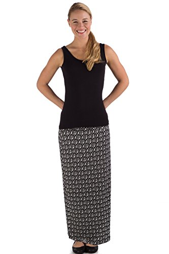 jms4120-extra-small-black-tika-bamboodreams-janna-maxi-skirt-foldover-waist