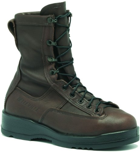 Belleville 330ST Men's 8-in WP ST EH Flight Tactical Boot Chocolate Brown 10.5 M US