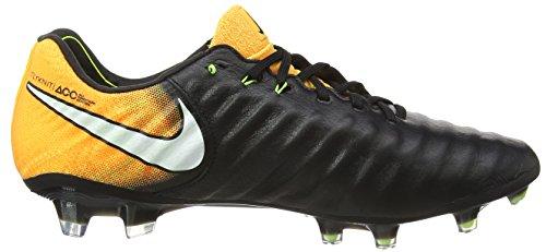 Nike Herren Tiempo Legend VII FG Fußballschuhe, Schwarz (Black/White-Laser Orange-Volt-Black), 44 EU