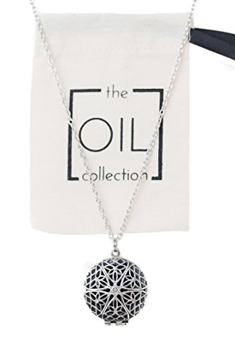 The Oil Collection Essential Oils Diffuser Locket Necklace A