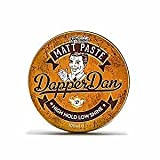 Dapper Dan Matt Paste Hair Pomade for Men, 100ml, Vintage Cologne