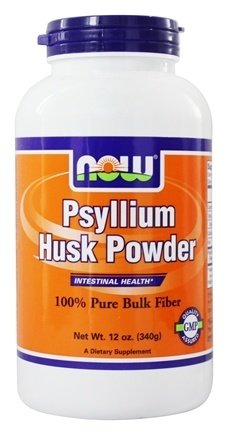 NOW Psyllium Husk Powder, 12-Ounce 12 Ounce Psyllium