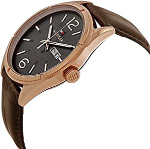 Tommy Hilfiger Dress Watch For Men Analog Leather - 1791058