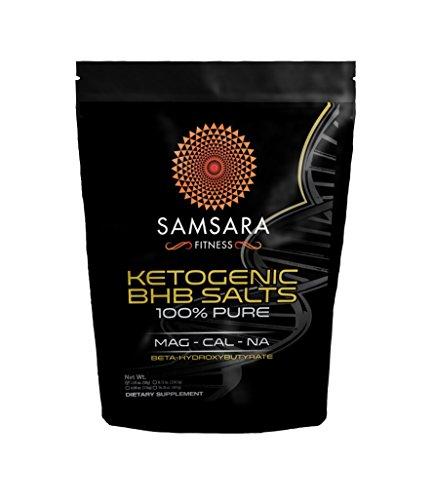 Samsara Fitness Ketogenic BHB Salts - Pure Exogenous Ketones Supplement - Keto (BHB) Salts   Beta Hydroxybutyrate Supplement Powder (2.05 Ounce)