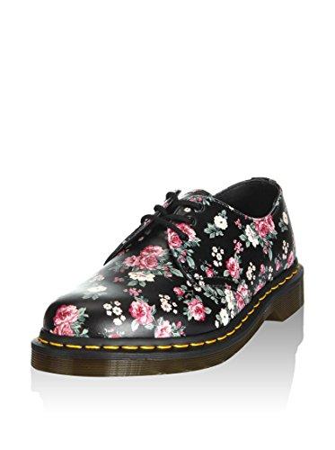 Dr. Martens Vintage Rose Softy T–Bottines pour femme en cuir noir 10084004–Noir, 40