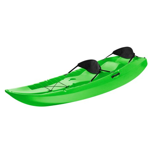 Lifetime Tandem Sit on Top Kayak with Back Rests, 10 Feet, Green (Tandem Fishing Kayaks)