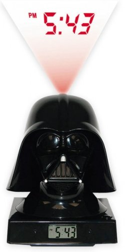 Star Wars Merchandise - Darth Vader LED Alarm Clock