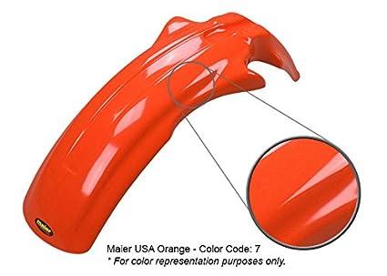 Maier USA Front Fender for Honda XR75 Red 136002 XR80