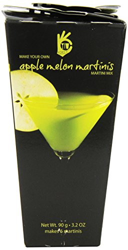 Foxy's Gourmet Martini Drink Mix, Apple Melon, 3.2-Ounce (Pack of 4)