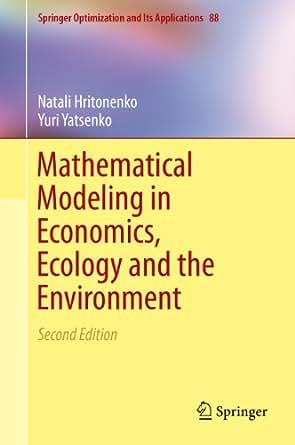 Mathematical economics
