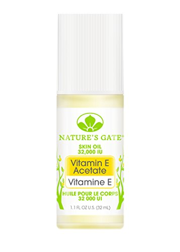 Nature's Gate Pure Vitamin E Oil Roll-On, 1.1 Ounce (Pack of 3)