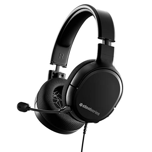 SteelSeries Arctis 1 Wired Gaming Headset - Detachable Clearcast Microphone - Lightweight Steel-Reinforced Headband - for PC, PS4, Xbox, Nintendo Switch, Mobile