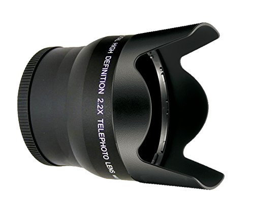 Sony FDR-AX53 2.2x High Grade Super Telephoto Lens by Digital Nc