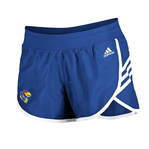 Adidas Kansas Shorts Jayhawks (NCAA Kansas Jayhawks Women's Mini Leg Logo 2