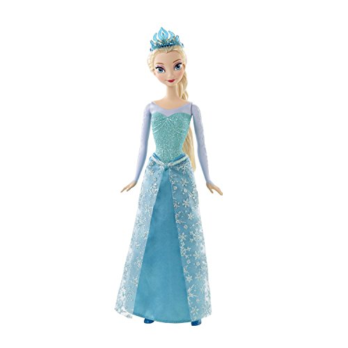 Mattel Disney Frozen Sparkle Princess Elsa (Barbie Disney Doll)