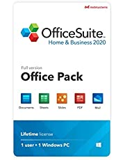 OfficeSuite Home & Business 2020 – full license – Compatible with Microsoft® Office Word, Excel & PowerPoint® and PDF for PC Windows 10 - 1PC/1User