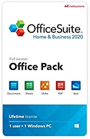 OfficeSuite Home & Business 2020 – full license – Compatible with Microsoft® Office Word, Excel & Powe