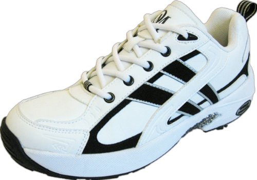 Oregon Mudders Women's WCA300 White/Black Athletic Golf Shoe Size 9M