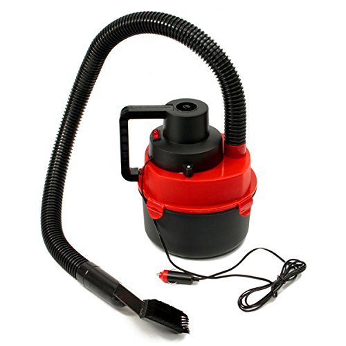 12V Portable Wet Dry Mini Vacuum Cleaner Carpet Car Boat Air Inflating Pump