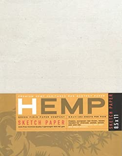 """product image for Hemp Sketch Paper Pack 11"""" x 14"""""""