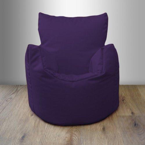 Shopisfy Kinder / Kleinkinder Wasserfest Innen Außen Sitzsack Sessel Gamer, Erhältlich in 10 Farben und Verschiedene Packungsgrößen - Lila