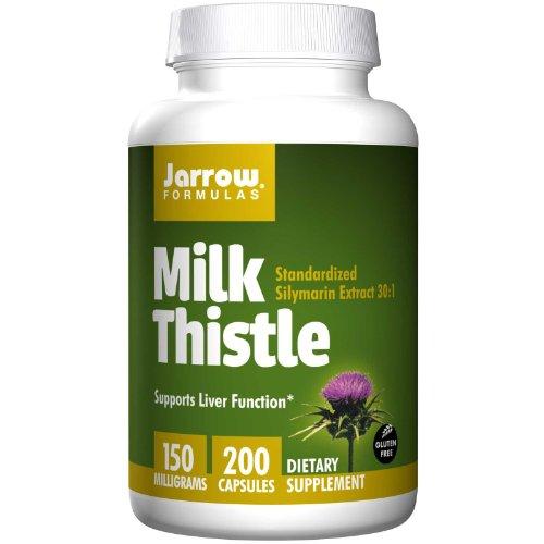 Jarrow Formulas Thistle Veggie Capsules