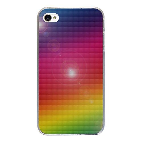 """Disagu Design Case Coque pour Apple iPhone 4s Housse etui coque pochette """"Regenbogen"""""""